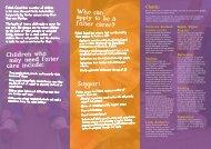 Fostering Leaflet (PDF, 191KB) - Falkirk Council
