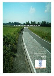 ROAD ASSET MANAGEMENT PLAN 2010/13 - Falkirk Council