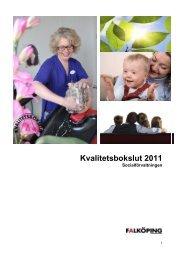 Kvalitetsbokslut 2011 - Falköpings kommun