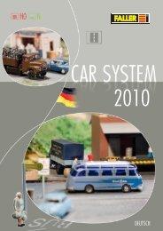 FALLER Car System 2010