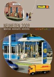 FALLER Neuheiten 2009