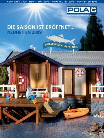 POLA G Neuheiten 2009 - Faller