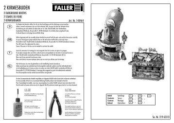 140464 Anleitung - Faller
