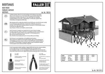 130510 Anleitung - Faller
