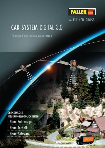 FALLER Car System Digital 3.0 Neuheiten 2013