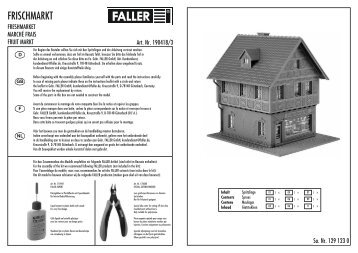 FRISCHMARKT - Faller