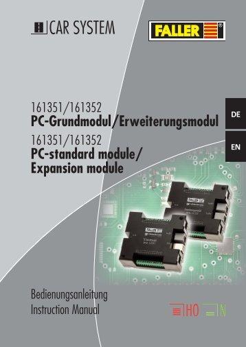 161351 Anleitung - Faller
