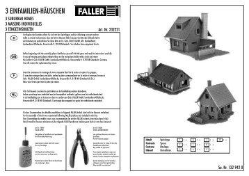 232221 Anleitung - Faller