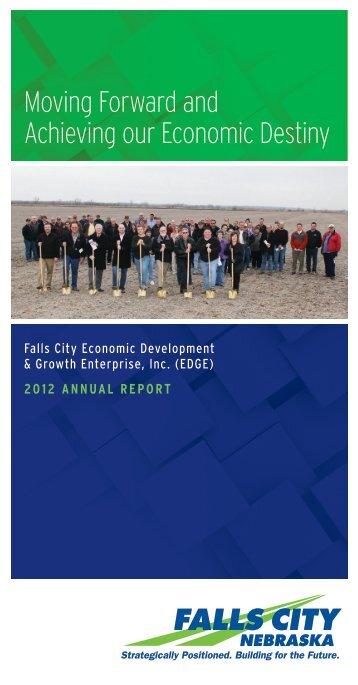 2012 Annual Report - Falls City Edge