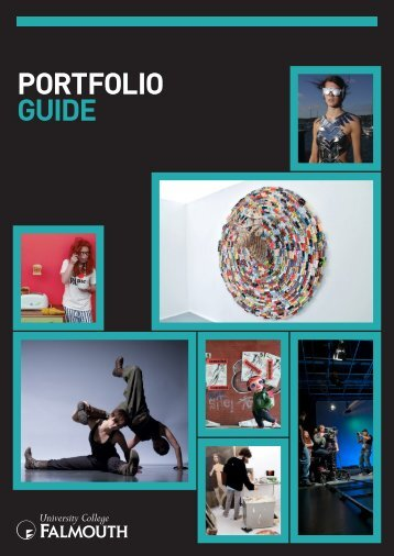 PORTFOLIO GUIDE - University College Falmouth