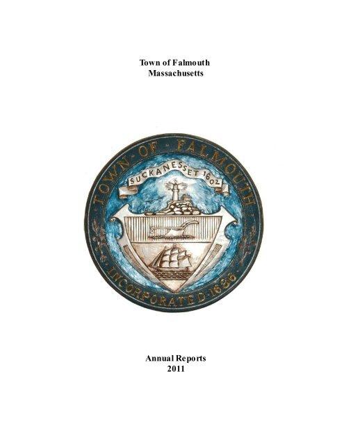 Falmouth Massachusetts Annual Reports