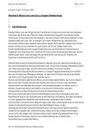 Herbert Marcuse versus Jürgen Habermas - Falsafeh