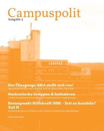 Zeit zu handeln? - Asta der Bergischen Universität Wuppertal ...