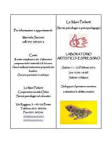 Laboratorio artistico espressivo Le Mani Parlanti - Famiglia a Parma