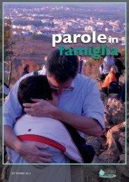 SETTEMBRE 2012 - Famiglia Buona Novella