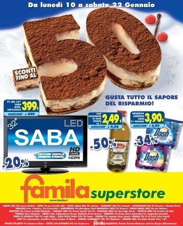 -50% -20% - Famila