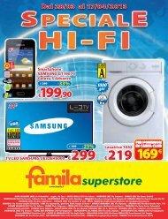 230x300 VOL Speciale Hi-Fi SSTORE_GALA SUP.indd - Famila