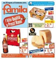 € 2,19 € 2,37 - Famila
