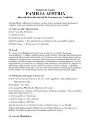 FAMILIA AUSTRIA Statuten Fassung 2012-10-13 bereingt