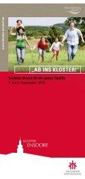?AB INS KLOSTER!? - Familie-bildung.info
