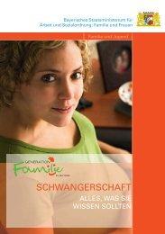 Schwangerschaft - alles, was Sie wissen sollten (1'692 kb) - Bayern