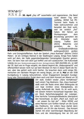 """30. April """"Day off"""" ausschlafen und regenerieren ... - Familie P rigge"""