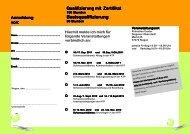 Basisqualifizierung Basisqualifizierung - Familie in Siegen