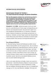 Zusammenfassung zum Netzwerktreffen am ... - Familie in Siegen