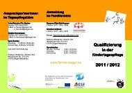 Qualifizierung_KTP2011 1 - Familie in Siegen