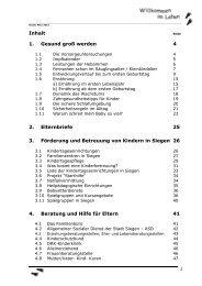 Den Inhalt des Elternbegleitbuches können Sie ... - Familie in Siegen