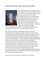 Bündnis des Monats 12-08_Siegen - Familie in Siegen