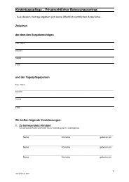 Betreuungsvertrag Stand 2-07 - Familie in Siegen