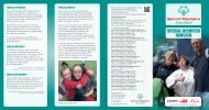 SPECIAL OLYMPICS FAMILIEN - Familie und Sport
