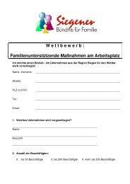 Bewerberbogen_ 1 - Familie in Siegen