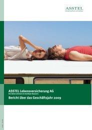 ASSTEL Lebensversicherung AG - Geschäftsbericht 2009