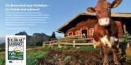 Ein Bauernhof zum Verlieben – im Urlaub und zuhause! - Familie.de