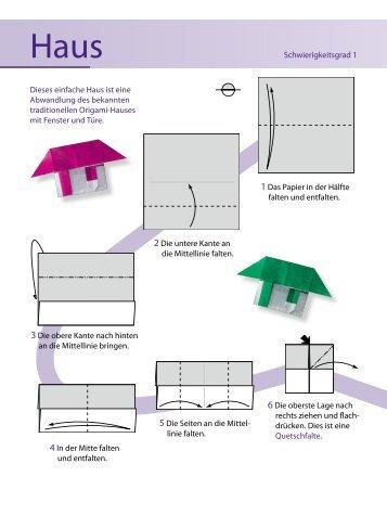 Anleitung Origami-Haus zum kostenlosen Download - Familie.de
