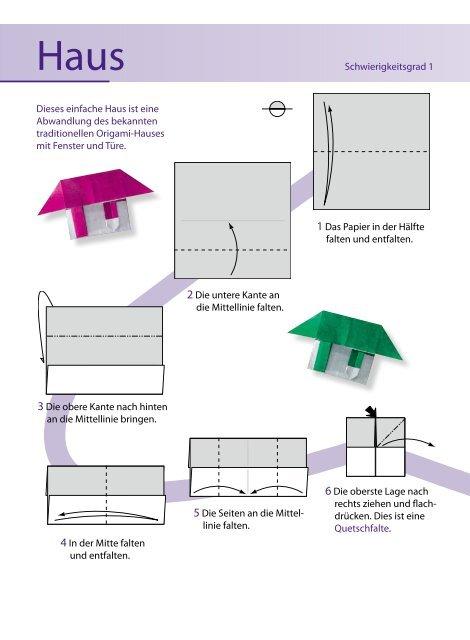 Anleitung Origami Haus Zum Kostenlosen Download Familie De