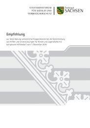 Empfehlung zur Vereinbarung verbindlicher Kooperationen bei der ...