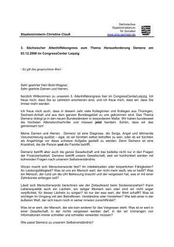Staatssekretär Dr - Familie - Freistaat Sachsen