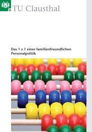 1x1 für familienfreundliche Personalpolitik - Familien an der TU ...