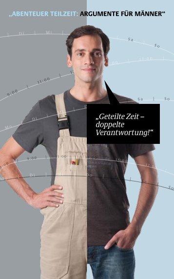 """""""Geteilte Zeit – doppelte Verantwortung!"""" - Bundesministerium für ..."""
