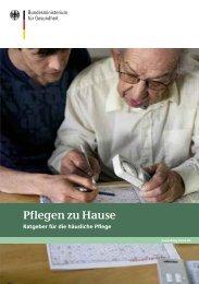 Pflegen zu Hause (pdf: 3378 kb) - RWTH Aachen University