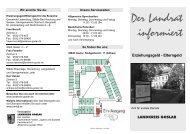 Der Landrat informiert - Familien an der TU Clausthal