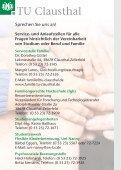Studium oder Beruf mit Familie an der TU Clausthal - Page 2