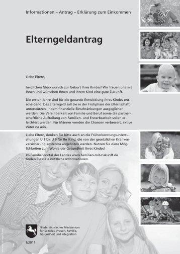 Elterngeldantrag - Familien an der TU Clausthal