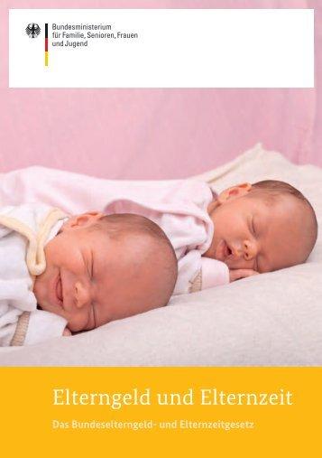 Elterngeld und Elternzeit (pdf)