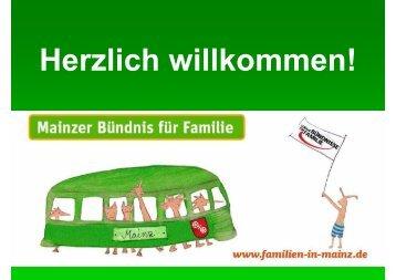 Präsentation - Mainzer Bündnis für Familie