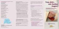 weitere Infos - Katholische Erwachsenenbildung Kreis Göppingen eV