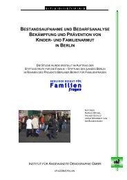 Bestandsaufnahme und Bedarfsanalyse - Berliner Beirat für ...